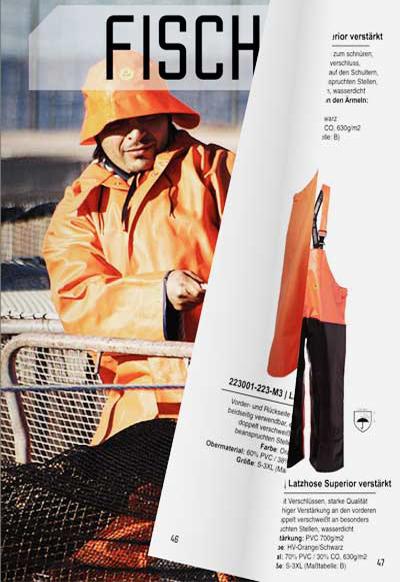 Fischereibekleidung